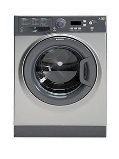 hotpoint-wmxtf742gl-7kg-load-1400-spin-washing-machine-graphite