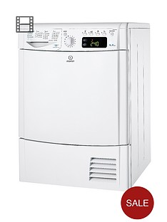 indesit-idce8450bh-8kg-load-condenser-dryer-white
