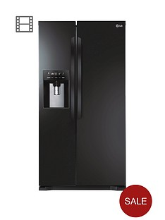 lg-gsl325wbqv-frost-free-usa-style-fridge-freezer-black