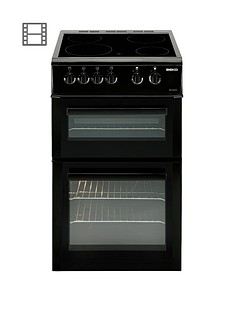 beko-bdvc563ak-50cm-double-oven-electric-cooker-black