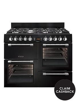 leisure-ck100f232k-100cm-dual-fuel-cooker-black