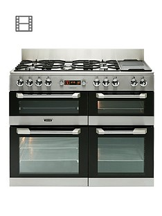 leisure-cs110f722x-110-cm-dual-fuel-cooker-stainless-steel
