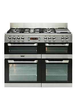 Leisure Cs110F722X Cuisinemaster 110Cm Dual Fuel Range Cooker  Stainless Steel