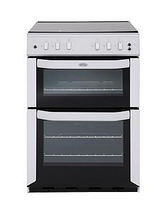 belling-belfsg55tcf-55cm-twin-cavity-gas-cooker-white