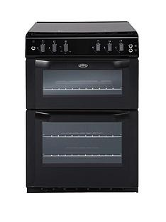 belling-belfsg55tcf-55cm-twin-cavity-gas-cooker-black