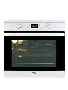 beko-oif21300w-60cm-electric-built-in-single-fan-oven-white