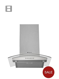 hotpoint-hda65sab-60cm-chimney-hood-stainless-steel