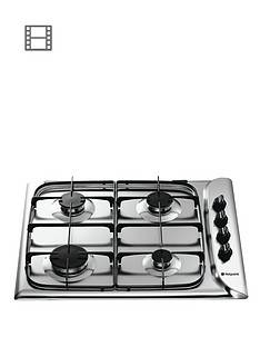 hotpoint-g640sx-60cm-gas-hob-stainless-steel