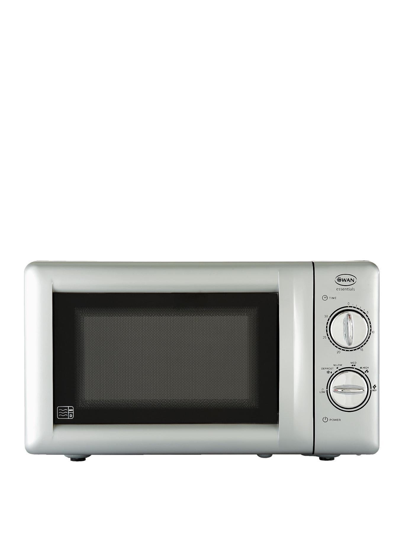 SM22020S 800 Watt Microwave - Silver