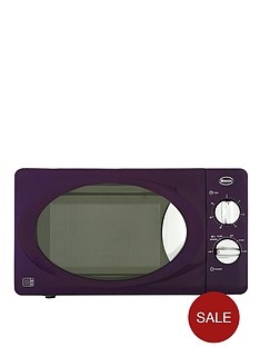swan-sm22011pu-800-watt-20-litre-manual-microwave-purple