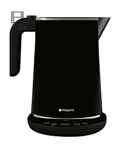 hotpoint-wk30eab0uk-stainless-steel-digital-kettle-black