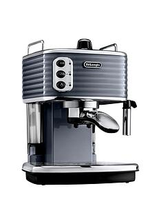 delonghi-scultura-1100-watt-coffee-maker-gunmetal-grey