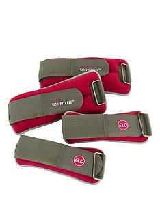 active-woman-weighted-ankle-and-wrist-weights