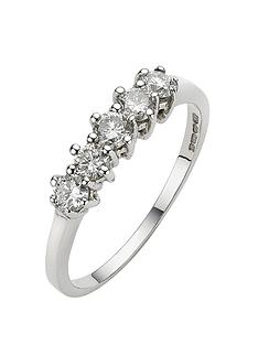 love-diamond-9-carat-white-gold-50pt-diamond-5-stone-eternity-ring