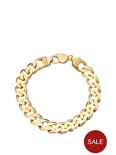 love-gold-9-carat-yellow-gold-approx-1oz-solid-diamond-cut-curb-bracelet