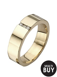 love-gold-9-carat-yellow-gold-diamond-set-band-ring