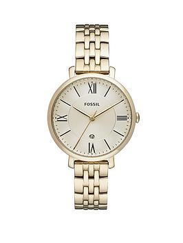 fossil-jacqueline-gold-tone-stainless-steel-bracelet-ladies-watch
