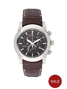 citizen-eco-drive-sport-chronograph-strap-mens-watch