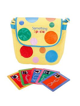 something-special-mr-tumble-textured-spotty-bag