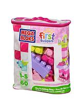 MB First Builders Pink 60 pc Bag