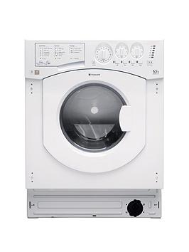 Hotpoint Aquarius Bhwd129 1200 Spin 6.5Kg Wash 5Kg Dry Integrated Washer Dryer  White