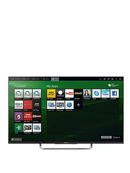 Sony Kdl50W829Bbu 50 Inch Active 3D Full Hd Freeview Hd Led Smart Tv  Black