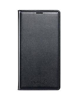 samsung-original-galaxy-s5-flip-wallet-blackblue