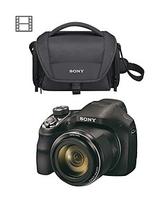 sony-sony-dsch400-201-megapixel-digital-camera-and-bag-bundle