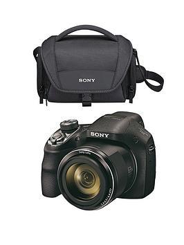 sony-sony-dsch400-201-megapixel-digital-camera-and-bag-bundle