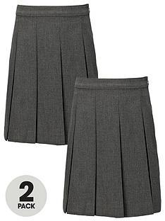 top-class-girls-school-uniform-woven-standard-skirts-2-pack