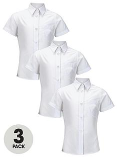 top-class-girls-short-sleeve-school-shirts-3-pack