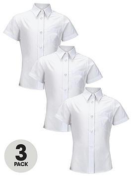 top-class-girls-short-sleeve-school-shirts-3-pack