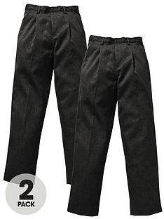 top-class-boys-teflon-coated-slim-fit-school-trousers-2-pack