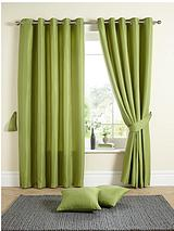 Millie Waffle Ring Top Curtains