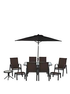 versailles-11-piece-dining-set-brown