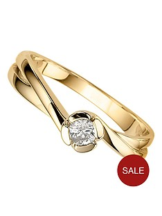 love-diamond-9-carat-yellow-gold-18-point-diamond-twist-set-ring
