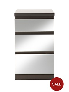 prague-mirror-3-drawer-bedside-cabinet