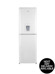 beko-cfd5834apw-55cm-frost-free-fridge-freezer-white-next-day-delivery