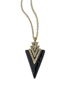 fiorelli-art-deco-gold-and-navy-triangle-pendant-with-clear-crystals