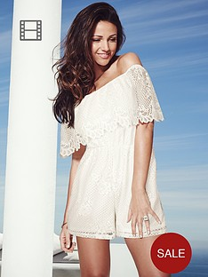 lipsy-michelle-keegan-bardot-lace-playsuit