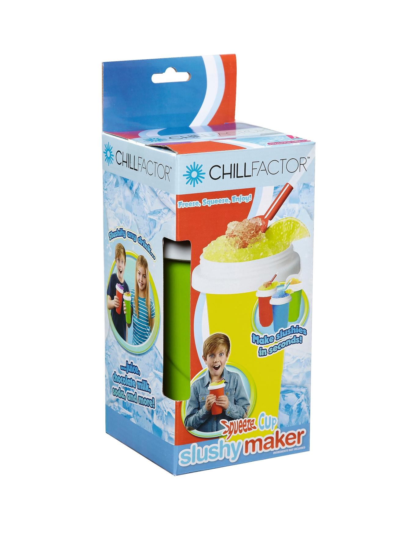 Squeeze Cup Slushy Maker