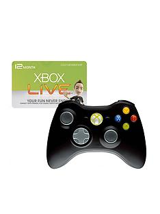 xbox-360-wireless-controller-and-12-months-xbox-live-gold-membership