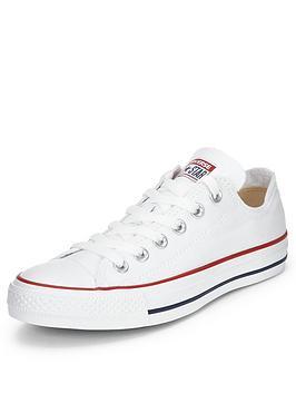 6daa08c9ac02 Converse Chuck Taylor All Star Ox Plimsolls - White