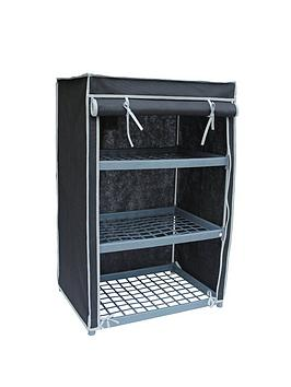 new-ideal-3-shelf-canvas-storage-unit-black