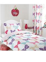 New Vintage Butterfly Duvet Cover Set