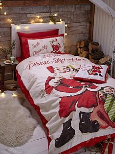 catherine-lansfield-retro-santa-duvet-cover-set