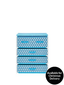 kidspace-ideal-kids-4-shelf-frame-with-drawers