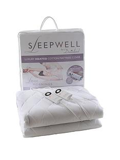 dreamland-intelliheat-cotton-mattress-cover