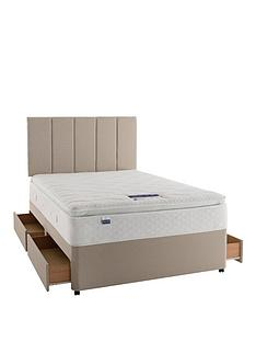 silentnight-miracoil-3-geltex-pillowtop-divan-bed-with-optional-storage