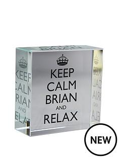 personalised-keep-calm-crystal-token